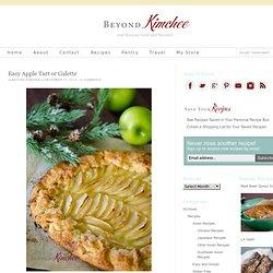 Easy apple tart or apple galette