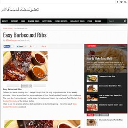 Easy Barbecued Ribs - All food Recipes