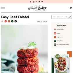 Easy Beet Falafel