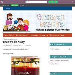 Easy Density Experiment For Kids