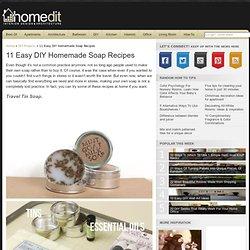 11 Easy DIY Homemade Soap Recipes