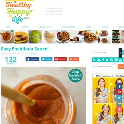 Easy Enchilada Sauce!
