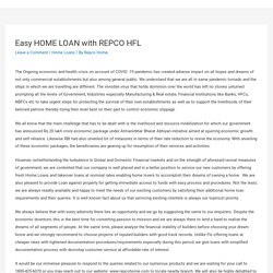Easy HOME LOAN with REPCO HFL – Repco Home