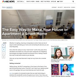 The Easy Way to Make Your House or Apartment a Smart Home