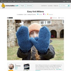 Easy Knit Mittens: 7 Steps