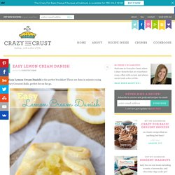 Easy Lemon Cream Danish