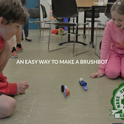 An easy way to make a brushbot