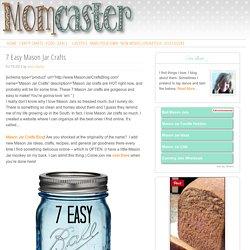 7 Easy Mason Jar Crafts - Mason Jar Crafts to Make Today