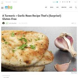 Easy Recipe For Gluten-Free Garlic Naan