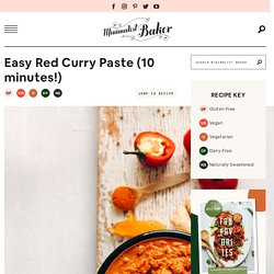 Easy Red Curry Paste
