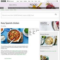 Easy Spanish chicken recipe - BBC Food