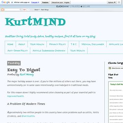 KurtMIND: Easy To Digest