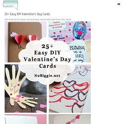 25+ Easy DIY Valentine's Day Cards