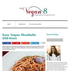 Vegan Meatballs (Oil-free)