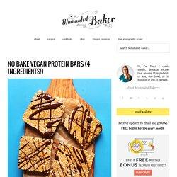 Easy Vegan Protein Bars