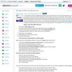 Easy Ways to Reset Yahoo Mail Password