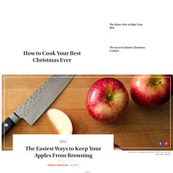Easy Ways to Stop Apples From Browning