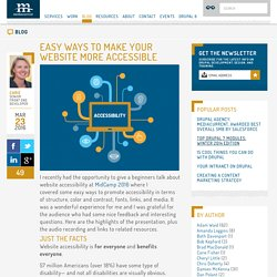 Easy Ways to Make Your Website More Accessible