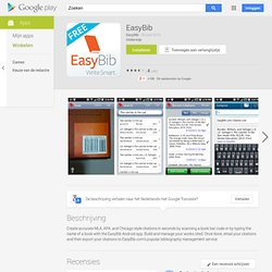EasyBib - Apps on Android Market