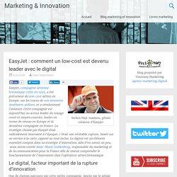 EasyJet, moteur d'innovation du secteur aérien en Europe