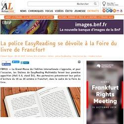 EasyReading (police) se dévoile à la Foire du livre de Francfort