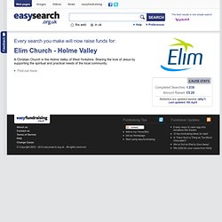 easysearch.org.uk | Supplied by easyfundraising | Powered by Yahoo! and Bing