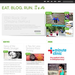 Eat. Blog. Run.