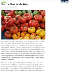 Eat the New World Diet