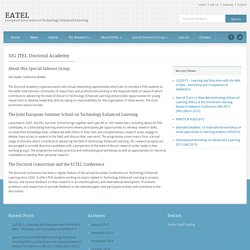 EATEL » SIG JTEL Doctoral Academy