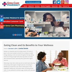 Eating Clean and Its Benefits to Your Wellness