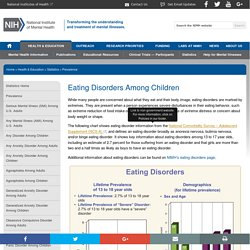 NIMH » Eating Disorders Among Children