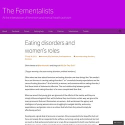 Eating disorders and women's roles