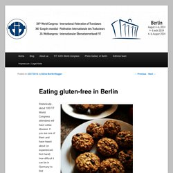 Eating gluten-free in Berlin