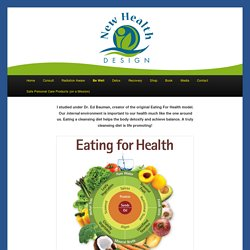 Eating for Health - New Health Design