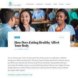 How Does Eating Healthy Affect Your Body - Fitness