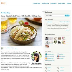Eatsy: Baja-Style Fish Tacos With Shredded Cabbage Slaw