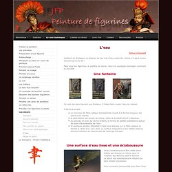 L'eau - peinture de figurines - le site de jfp