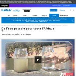 De l'eau potable pour toute l'Afrique ?