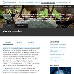 Banque mondiale - Eau - Vue d'ensemble [ressource]