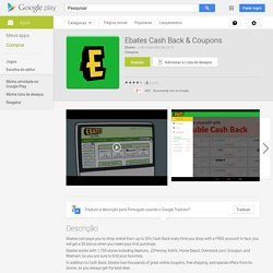 Ebates Cash Back & Coupons