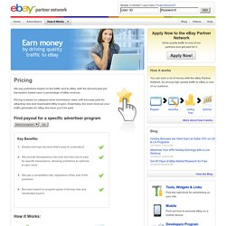 eBay Partner Network — Pricing