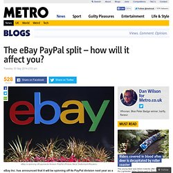 eBay PayPal split: How will it affect you?