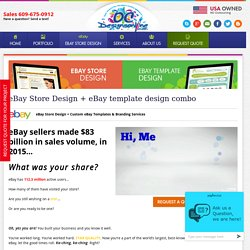 Get The Best eBay Store Design From OCDesignsOnline