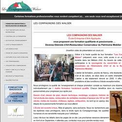 FORMATION EBENISTERIE & RESTAURATION DE MOBILIER