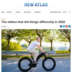 The ebikes that did things differently in 2020