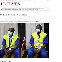 Ebola. Notre chronologie interactive pour suivre l'épidémie - Data Le Temps