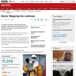 Ebola: Mapping the outbreak