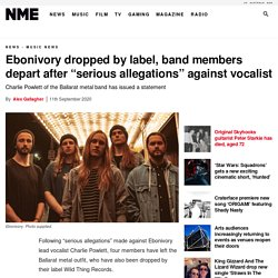 "Ebonivory dropped by label, band members depart after ""serious allegations"" against vocalist"