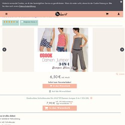 eBOOK # 67 ✪ Damen Jumper 3-in-1 XS-3XL
