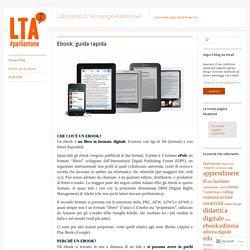 Ebook: guida rapida